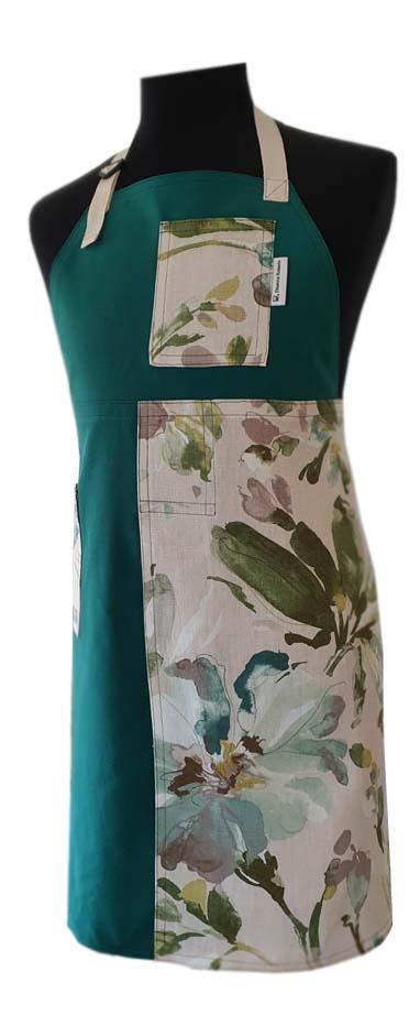 Vine Split-leg apron (76 x 88) - Deanna Roberts Studio