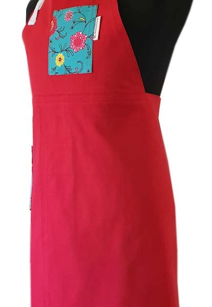 Cherry Garden Split-leg apron (70 x 90) - Deanna Roberts Studio