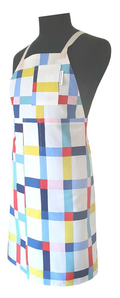 Geometry Split-leg apron (80 x 91) - Deanna Roberts Studio