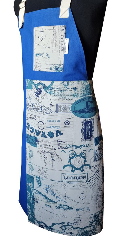 Explorer Split-leg apron (80 x 90) Neck strap - Deanna Roberts Studio
