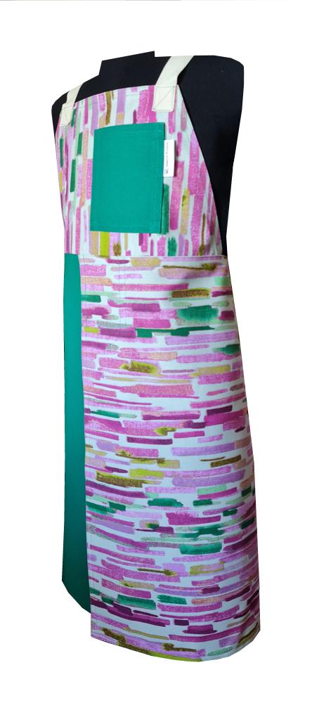 Hawaii Split-leg apron (80 x 91) Crossover back - Deanna Roberts Studio