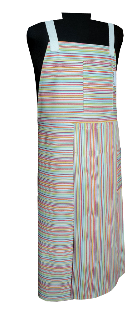 Razzle Split-leg apron (78 x 92) Crossover back - Deanna Roberts Studio
