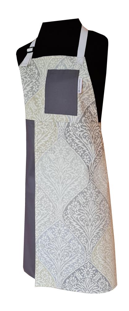 Alpine Split-leg apron (78 x 88) with adjustable neck strap and waist ties - Deanna Roberts Studio