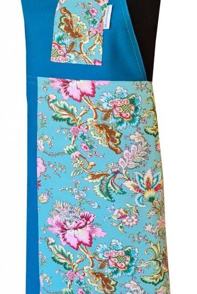 Capris Split-leg apron (79 x 90) with neck strap & waist ties - Deanna Roberts Studio