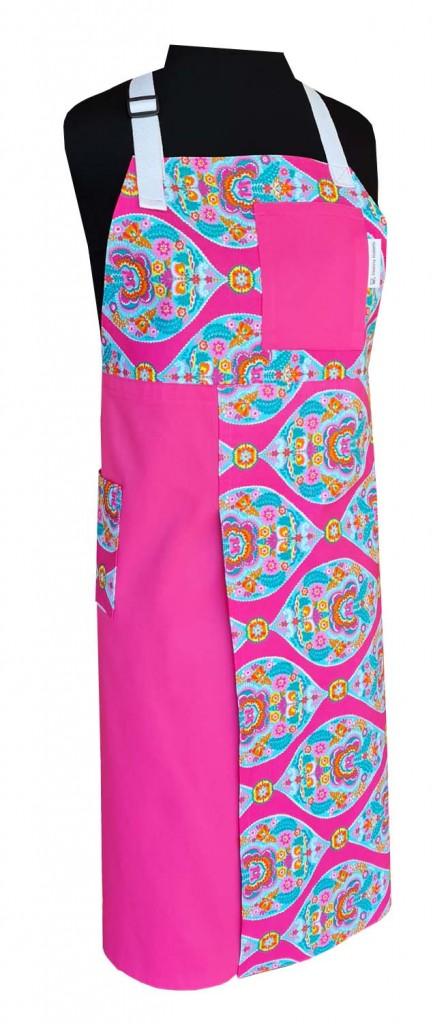 Icecream Sundae Split-leg apron (79 x 89) with neck strap & waist ties - Deanna Roberts Studio
