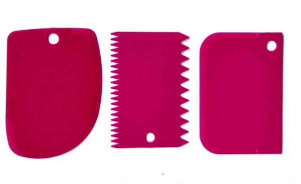 Plastic Scraper Tool set - Deanna Roberts Studio) (1)