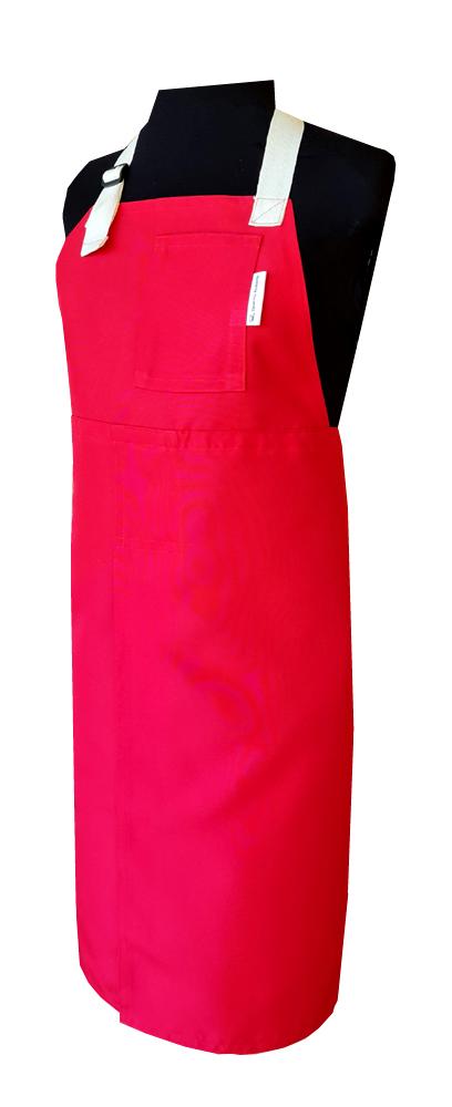 Firecrab Split-leg apron (80 x 88) with neck strap & waist ties - Deanna Roberts Studio