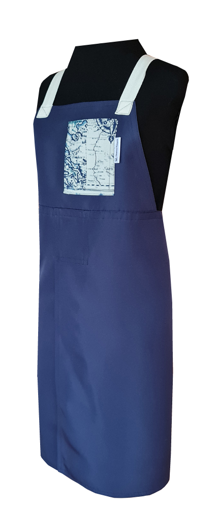 Traveller Split-leg apron (78 x 88) Crossover back - Deanna Roberts Studio