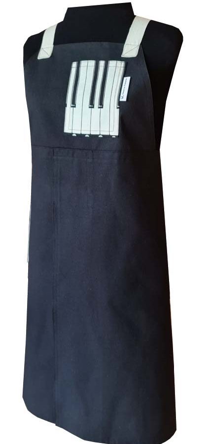 Tune Up Split-leg apron (78 x 88) Crossover back - Deanna Roberts Studio